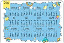 Calendare personalizate / Calendare personalizabile cu fotografia ta si nume. Calendare personalizate