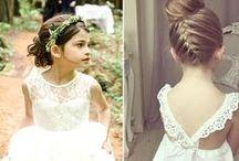 Hairstyles fllower girls