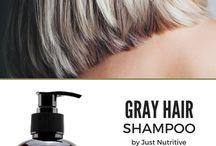 grey hair shampoo