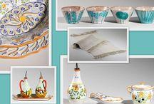 Ceramics we like / old and new beautiful maiolica