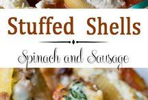 Shells (stuffed)