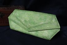 My Purses / Vintage evening bags, and my handmade purses made from vintage fabrics, and many will be decorated with all kinds of things.