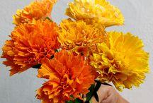 paper flowers video