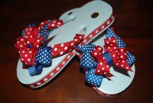 flip flops / by Kelly Jones