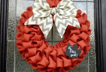 Wreaths / I want to be the crazy wreath lady!   :) / by Anne McBride
