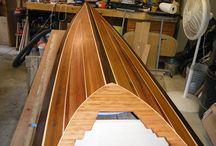 construcción de kayak
