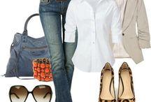Conjuntos Dressy / combinaciones de ropa
