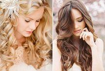 Frisuren und MakeUp