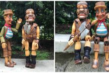 Custom Orders / We love to make your dreams true and It´s possible with our custom puppets servise. Here is short collection of recent orders.
