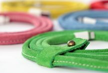 Colorful Suede Leather Cables