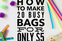 Busy Bags for Toddlers & Preschoolers