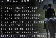 Equestrian fitness motivation!