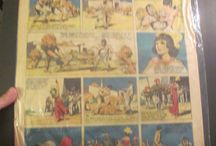 Tarzan Newspaper Comic Strip 1930's Rare Platinum Age / for sale from graphic-illusion.com contact me r.gustaveson@comcast.net