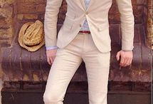 Linen Tuxedo