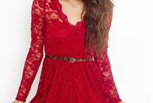Vestidos rojos de fiesta. / by lily Agui