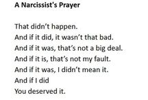Living with a Narcissist