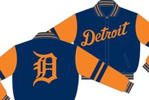 Detroit Tigers Wool Varsity Jackets Reversible to Nylon Official MLB Old English D Detroit - Imported - Donna Sacs / Men's Detroit Tigers Wool Varsity Jackets Reversible to Nylon Official MLB Old English D Detroit - Imported  Available in sizes medium to 6X   Order yours today