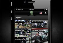 Monster Energy iOS App / The #Monster Energy #iPhone #application integrates all global #content and includes an #augmented reality game where players can compete in tagging locations anywhere in the world to get points and a diverse selection of #regional #Monster #Missions