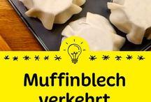 Muffinblech verkehrt