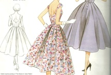 (Vintage) Sewing Pattern wishlist / by Lisa Weigel