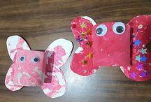 Valentines day crafts for children