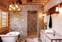 Beautiful Bathrooms / Luxuriate in the tub or sing in the shower in these beautiful bathrooms