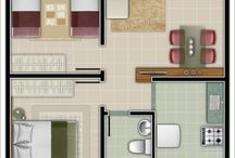 Two Bedroom Layouts