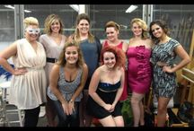 Big Hair Ball / Hair, wigs and makeup done by Trixies Salon