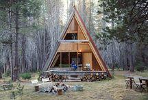 Cabane din lemn