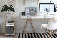 Home office + camarim