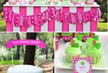pink birthday / Ideas for Sophies first party!