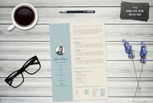 Resume templates / Professional, well-design and charming resume templates to make an exquisite impression to your future boss by the company of your dreams. You can easily personalize the templates in Word and Photoshop.  #resume #resumetemplate #modernresume #creativeresume #jobhunting #cv #coverletter #resumetips #resumetricks