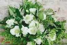 #ecochicwedding / ideas of green-gold eco-chic wedding