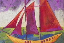 Boats and seascapes / by Debra Mainiero