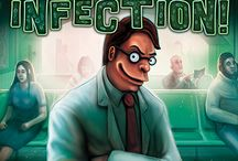 Infection! Board Game