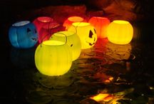 Halloween Pond Decorating Ideas / Pond Halloween Decorating Ideas