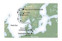 Plavba lodí MSC Opera - Norské fjordy - Termín 12.6.2016