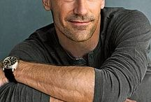 """Handsome Man ✨ / Jon Hamm.... The epitome of """"Tall, Dark and Handsome!!  / by Lisa Lindberg"""