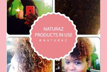 Finger Combed Styles Using Naturaz Hair Products / Finger combed hair styles using Naturaz hair care products.