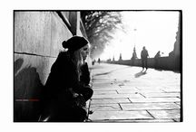 London, Moodboard 1 (mainly B&W) / city street and interior photography with model(s)