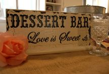 "~  DESSERT ?  YES PLEASE !!  ~ / I LOVE MY DESSERT'S !!  =)    I PERSONALLY,  PREFER TO SEE ALL KIND'S OF DIFFERENT IDEA'S TOGETHER. I'll BE WORKING ON MY ""PRESENTATION"" USING THIS BOARD . / by Esther Lord"