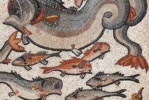 antique mosaics&frescoes / by Serge Katkov