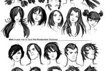 { Hair Style }