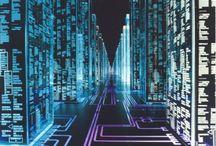 CYBERPUNK/CYBERSPACE/HI-TECH/FUTURISM