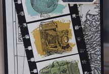 Handmade Cards- SU- Traveler / Stampin Up Traveler 2014