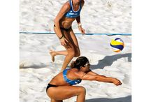 Volleyball. / by Olivia Ogilvie