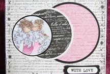cards - Bella Bella - stamping Bella cards / by Priscilla Brito