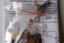 Kit Preamp Condenser Microphone C1815 [ Belum Solder ]