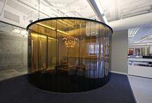 Enclosed Circular Meeting Rooms