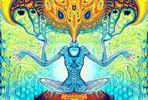 psychedeliK radiKal hippie stuff / by Fluffy Centner